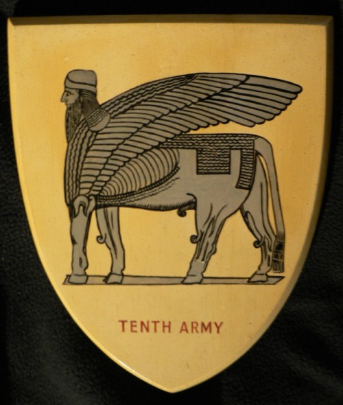 British 10th Army patch