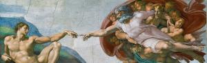God creates Adam